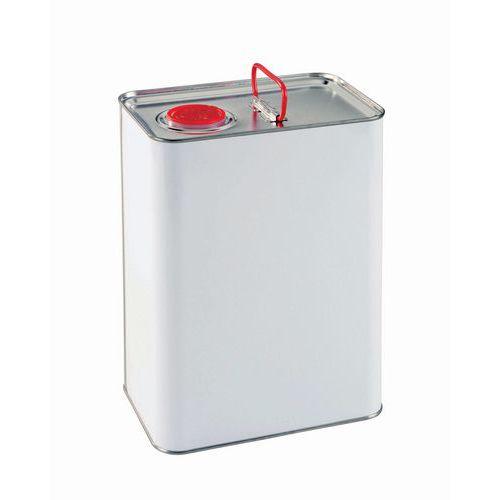 Bidão em ferro com tampa utilizável como bico de descarga – 0,25 a 5L