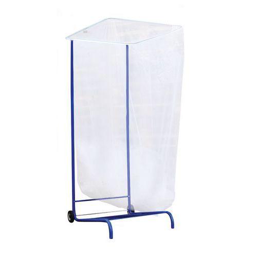 Suporte para saco de lixo de grande volume - Modulável 1000, 1500 e 2500 l