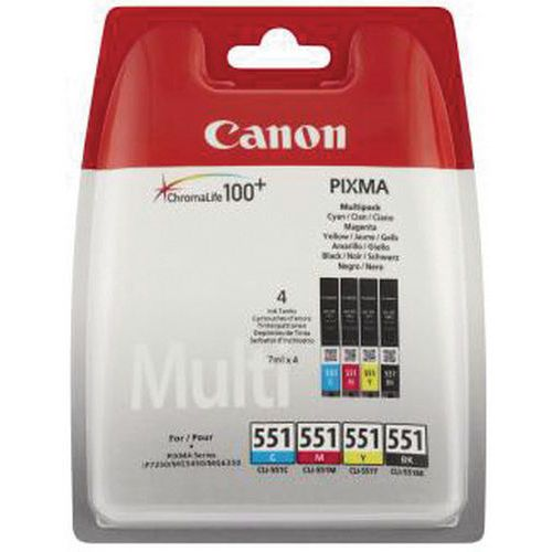 Cartucho de tinta - CLI-551 - Canon