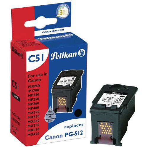 Cartucho de tinta - PG-512 - Pelikan