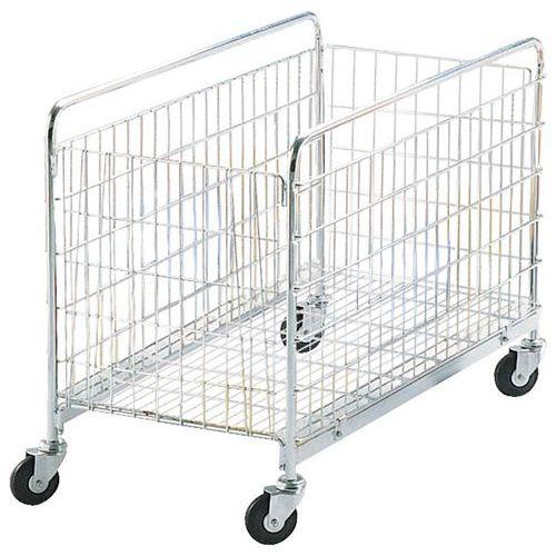 Carro gradeado dobrável - Capacidade 50 kg