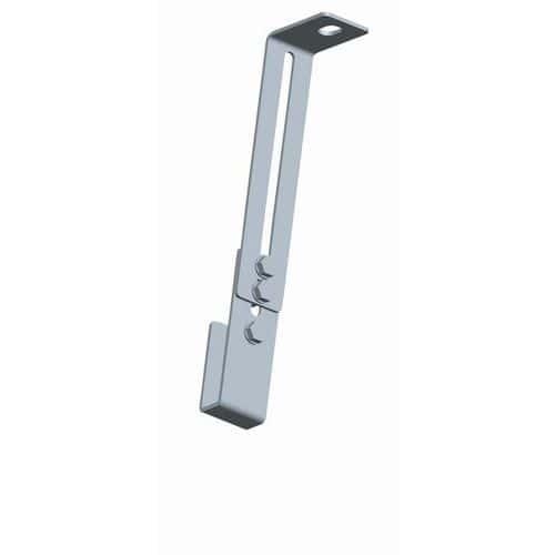 Patilhas de fixação reguláveis para escada com guarda-corpo – Tubesca
