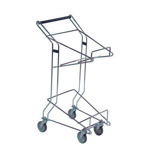 Carro porta-cestos - Capacidade 60 kg