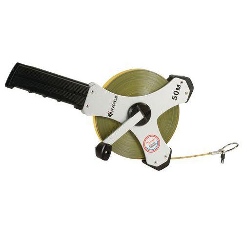 Fita métrica aço poliamida com pega direita Stake-Tape