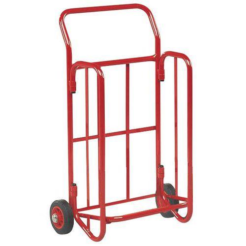 Porta-cargas dobrável porta-documentos - Capacidade 150 kg