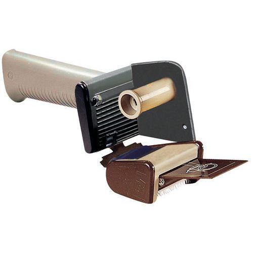 Porta-rolos ergonómico redutor de ruído – Travão regulável