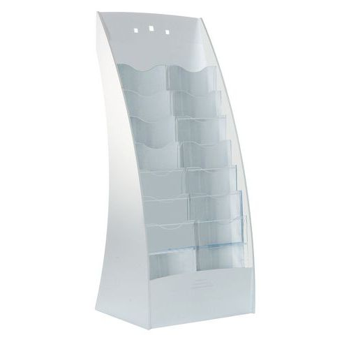 Expositor com 14 compartimentos - Paperflow