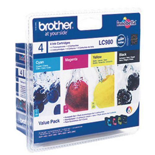 Cartucho de tinta - LC980 - Brother