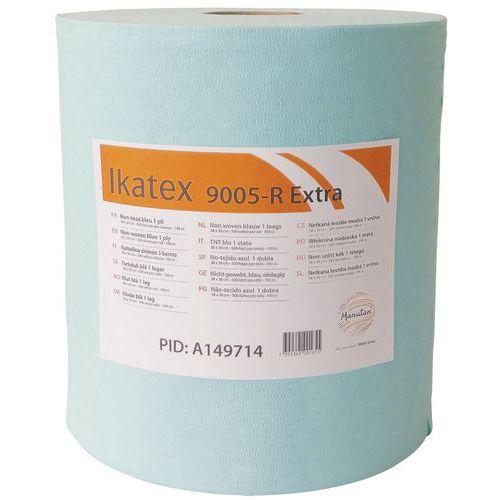 Rolo de pano não tecido Profitextra – 500 folhas – Azul – 38x30cm – Ikatex