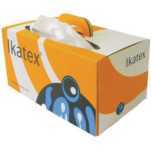 Pano não tecido – Caixa distribuidora de folhas individuais – 200 formatos – Ikatex