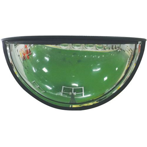 Espelho de segurança 1/4 esfera 180° - Manutan