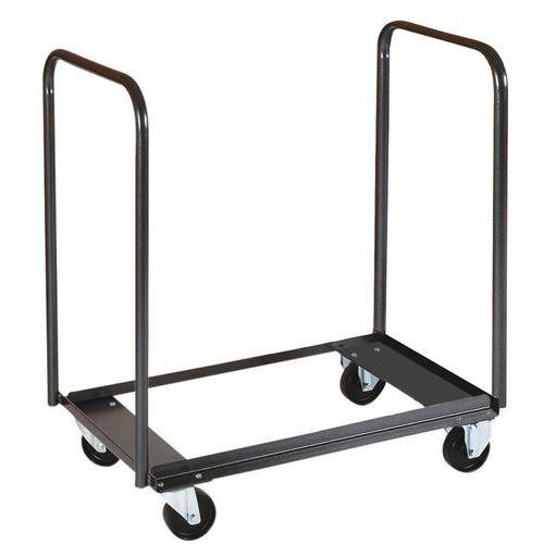 Carro de transporte - Para cadeiras dobráveis