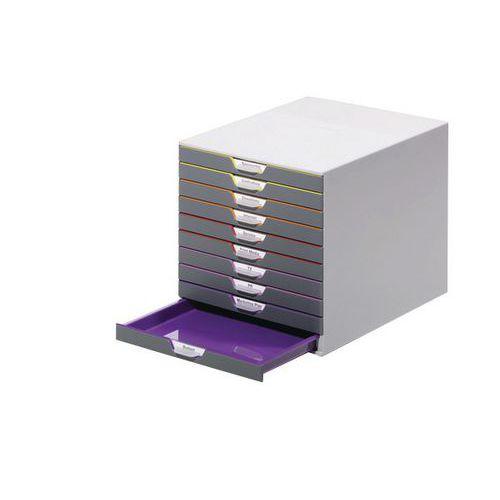 Módulo de arquivo Varicolor – 10 gavetas