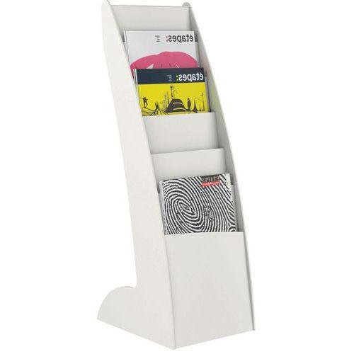 Expositor Courbo Slim 6 compartimentos - Paperflow