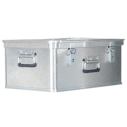 Caixa de transporte em alumínio de 26 a 240L