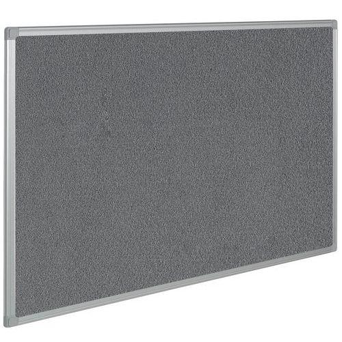 Painel de exposição têxtil – Cinzento