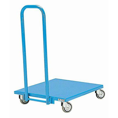 Carro em metal com espaldar rebatível – Capacidade: 150kg