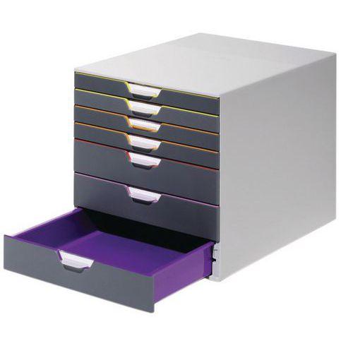 Módulo de arquivo Varicolor – 7 gavetas