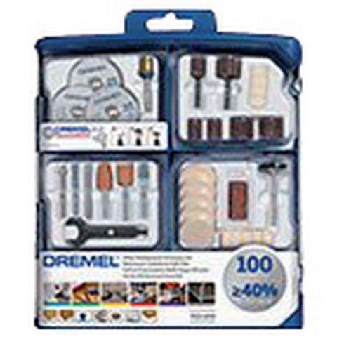 Kit de acessórios multiusos para Dremel - 100 peças