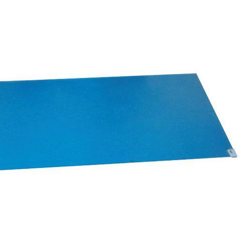 Tapete Nomad máxima limpeza - Azul