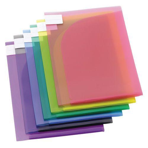 Envelope de apresentação Tarifold TCollection COLOR - Formato A4- Cores sortidas