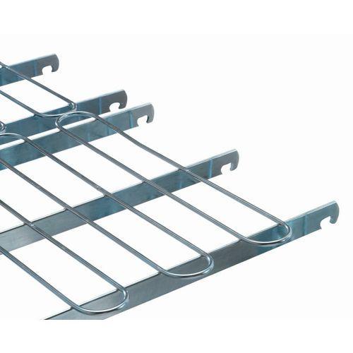 Semigrelha para contentor móvel de segurança Maxiroll – capacidade de 600kg