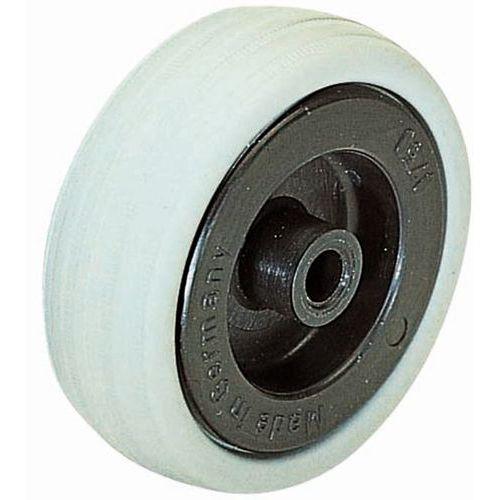Roda - Capacidade de 40 a 110kg - Cubo liso