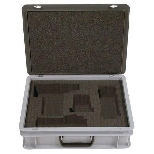 Caixa-maleta Rako com tampa - Interior em espuma - Comprimento de 300 mm