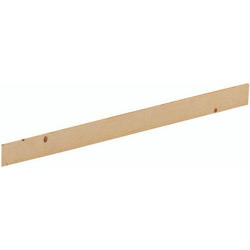 Rodapé antipoeira para Estante em madeira Épicéa