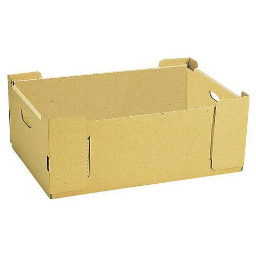 Caixas empilháveis em cartão – 530mm de comprimento – 25L