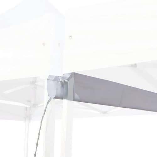 Canaleta para carpa de acero y aluminio