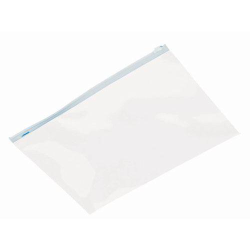 Saqueta plástica Topmatic Minigrip® 75 mícrones - Com cursor