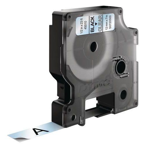 Cassete de fita Dymo D1 - Largura 12 mm