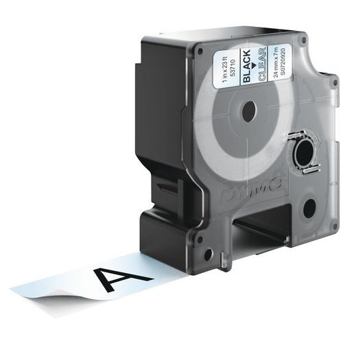Cassete de fita Dymo D1 - Largura 24 mm