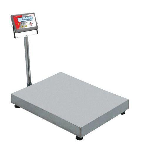 Balança de receção de coluna - Capacidade 30 kg