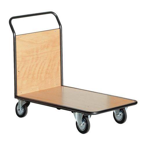 Carro de aço – 1 espaldar de painel fixo – capacidade de carga: 200kg a 500kg