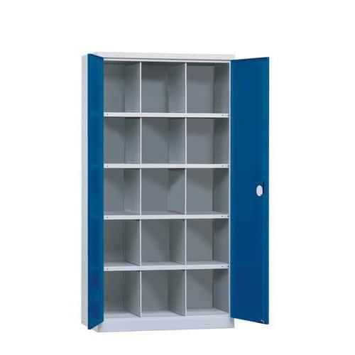 Armário com portas corrediças 1000 - 15 compartimentos