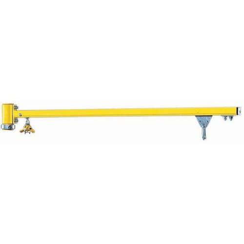 Braço adicional para grua giratória de coluna