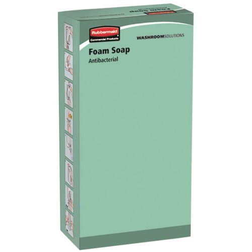 Recarga de sabão em espuma ou líquido de 800 ml