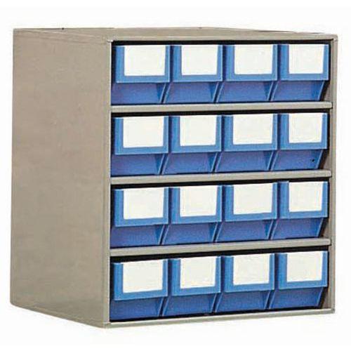 Bloco com caixas-gavetas - Profundidade 400 mm