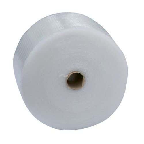 Plástico de bolhas com isolamento ecológico e poupança de espaço de Ø10mm – 35µm