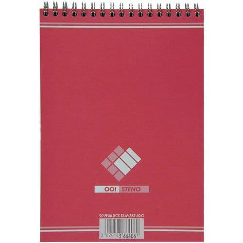 Caderno argolas Oxford Office formato 14,8 x 21 cm 180 páginas