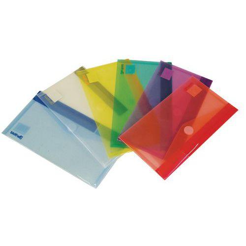 Sobre de presentación - Formato cheque - Colores surtidos