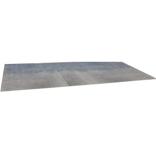 Patamar de receção para plataforma de armazenamento industrial