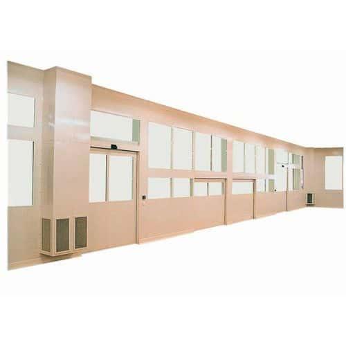Acessório para divisórias dupla parede - Altura 3000 mm