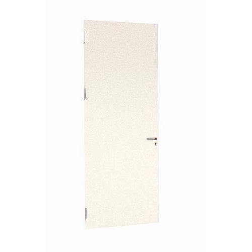 Porta rebatível para divisórias de oficina em melamina - Parede integral - Altura 3.01 m
