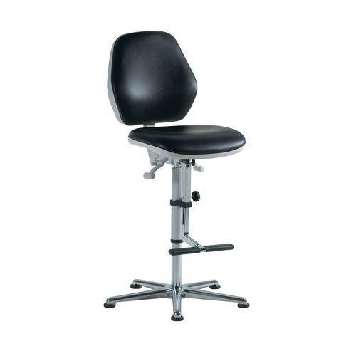 Cadeira para salas brancas Bimos 9141 - Alta - Com rodízios