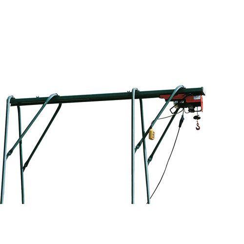 Cavalete para guincho de elevação - Capacidade de 200 kg