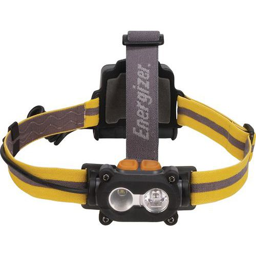 Lanterna frontal Hard Case Pro para capacetes – 325 lm – Energizer