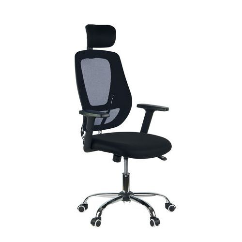 Cadeira de escritório Trix – Preta/cinzenta